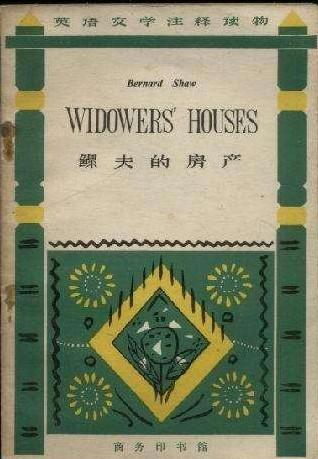 Widower's House,鳏夫的房产,essay代写,paper代写,北美作业代写