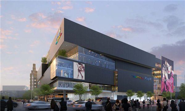 Large-scale retail commercial building,大型零售商业建筑,assignment代写,paper代写,美国作业代写