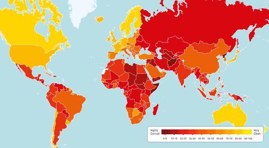 corruption perceptions index,韩国和越南的腐败指数,essay代写,paper代写,作业代写