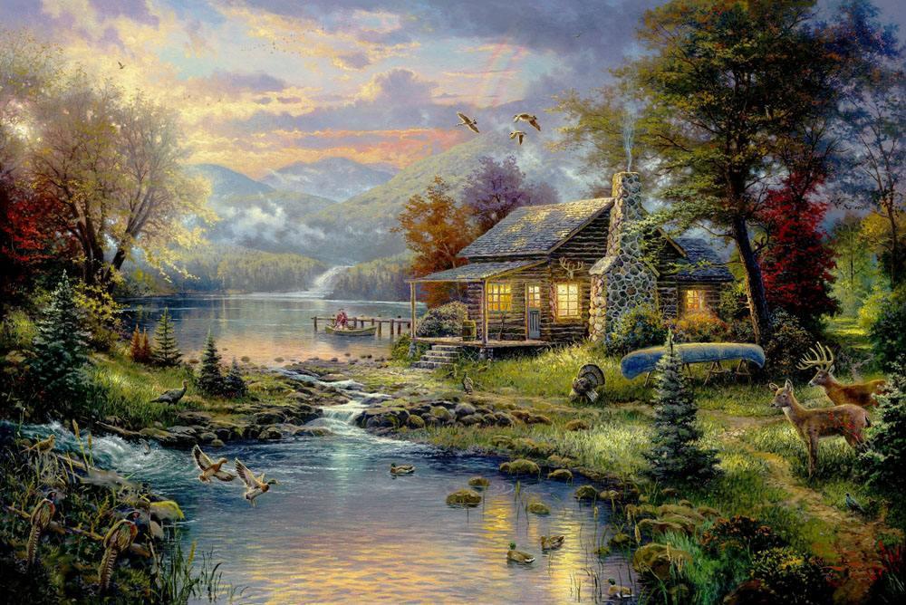 Landscape painting,油画风景写生,essay代写,paper代写,作业代写